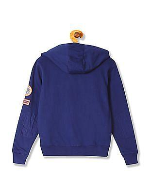 U.S. Polo Assn. Kids Boys Hooded Long Sleeve Sweatshirt
