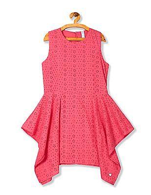U.S. Polo Assn. Kids UGDR5557 Me. Pink Girls Dress