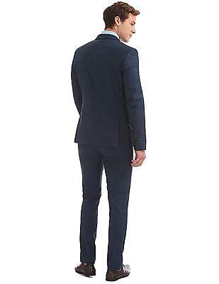 Arrow Windowpane Check Slim Fit Suit