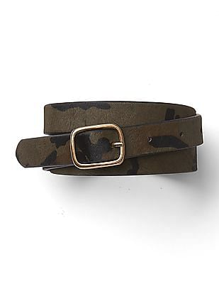 GAP Haircalf Skinny Belt