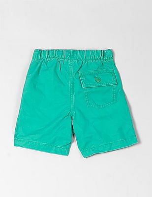 GAP Toddler Boy Twill Pull-On Shorts