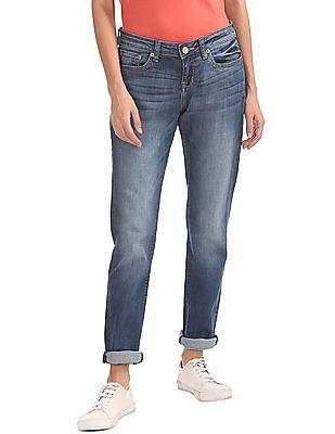 Aeropostale Stone Wash Skinny Jeans