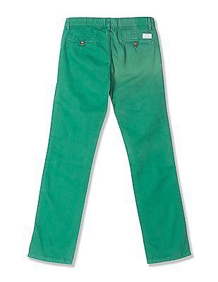 Gant Boys Regular Fit Flat Front Trousers