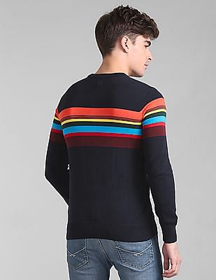 GAP Full Sleeve Striped Sweater