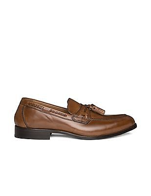 Johnston & Murphy Tasselled Leather Loafers