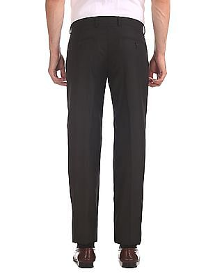 Excalibur Pleated Front Patterned Trousers