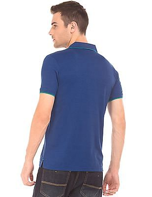 Roots by Ruggers Solid Tipped Polo Shirt