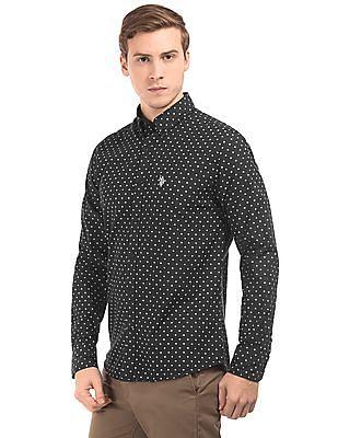 U.S. Polo Assn. Floral Print Button Down Shirt