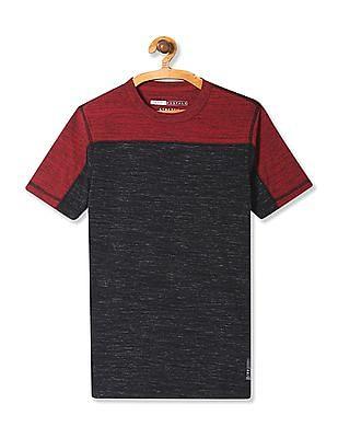 Aeropostale Colour Block Stretch T-Shirt