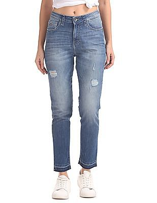 U.S. Polo Assn. Women Skinny High Rise Jeans