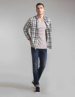 GAP V-Neck Striped T-Shirt