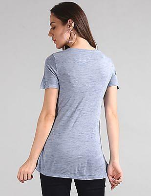 GAP Short Sleeve Heathered T-Shirt