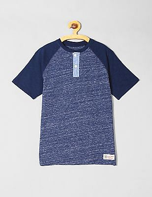GAP Boys Colorblock Henley T-Shirt