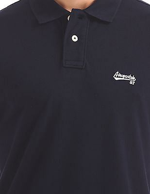 Aeropostale Printed Jersey Polo Shirt