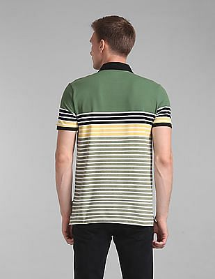GAP Short Sleeve Stripe Polo