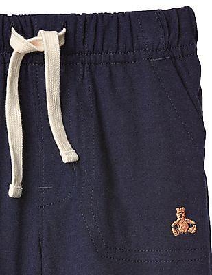 GAP Baby Blue Solid Shorts