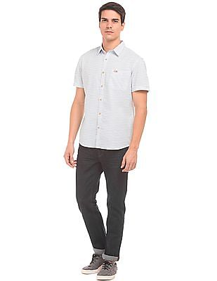 U.S. Polo Assn. Denim Co. Short Sleeve Cotton Shirt