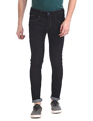 Ruf & Tuf Skinny Fit Rinsed Jeans
