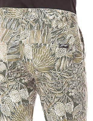 Ed Hardy Printed Slim Fit Shorts