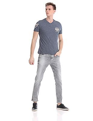 U.S. Polo Assn. Denim Co. Regular Fit Heathered T-Shirt