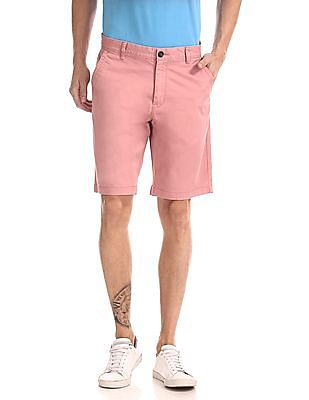 Aeropostale Regular Fit Solid Shorts