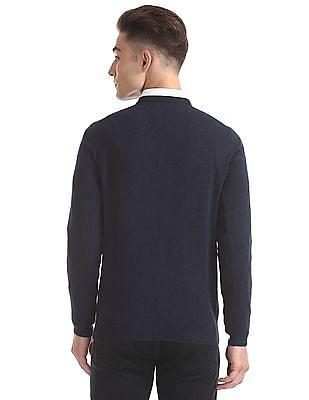 Gant Light Weight Cotton V-Neck Sweater