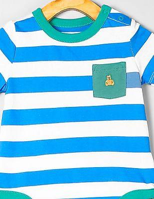 GAP Baby Short Sleeve Stripe Bodysuit