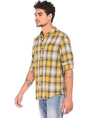 Ed Hardy Slim Fit Plaid Shirt