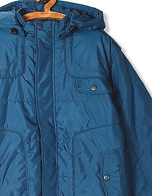 Izod Hooded Padded Jacket