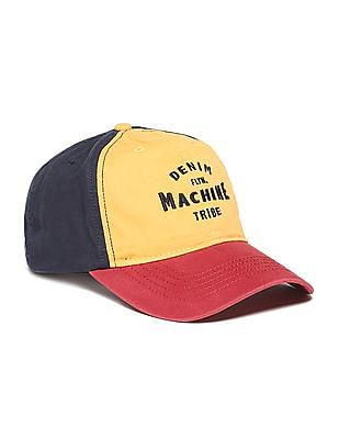 Flying Machine Colour Blocked Cotton Cap