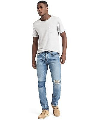 GAP Shadow Patch Skinny Fit Jeans