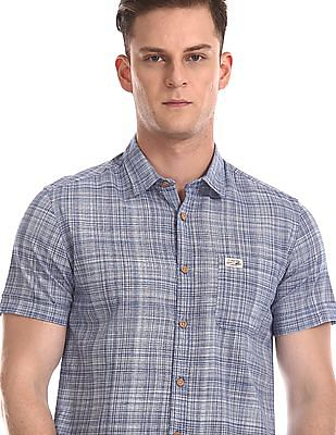 U.S. Polo Assn. Denim Co. Check Poplin Shirt