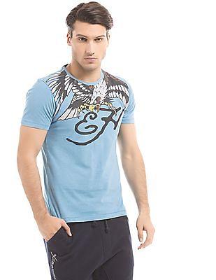 Ed Hardy Regular Fit Graphic Print T-Shirt