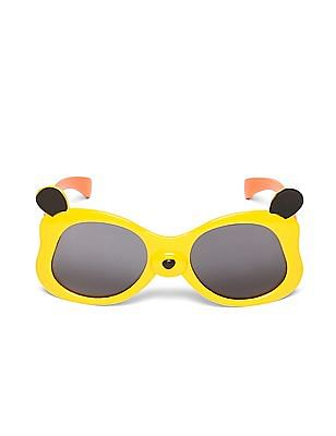 Unlimited Boys Panda Frame Colour Block Sunglasses