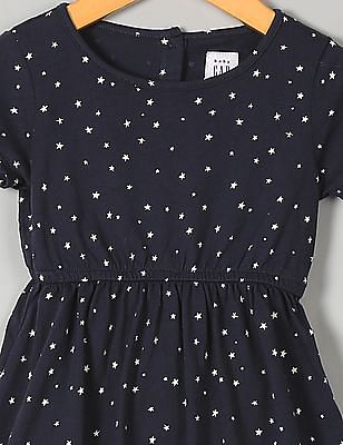 GAP Baby Knot-Sleeve T-Shirt Dress