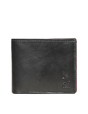 U.S. Polo Assn. Bi-Fold Leather Wallet