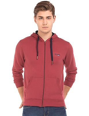 Newport Hooded Zip Up Sweatshirt