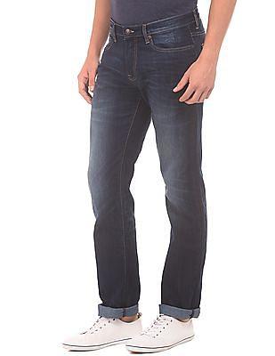 Aeropostale Dark Wash Slim Straight Fit Jeans