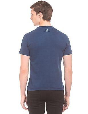 U.S. Polo Assn. Denim Co. Brand Print Slub T-Shirt