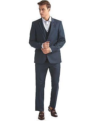 Arrow Regular Fit Three Piece Suit