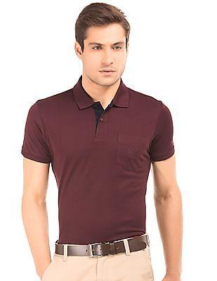 Arrow Sports Pique Regular Fit Polo Shirt