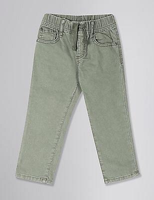GAP Green Toddler Boy Slim Jeans With Fantastiflex