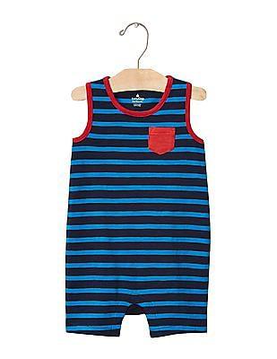 GAP Baby Blue Stripe Tank Shortie One Piece