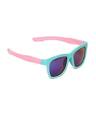 Unlimited Girls Square Frame Colour Block Sunglasses