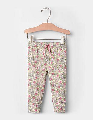 GAP Baby Multi Colour Print Banded Pants