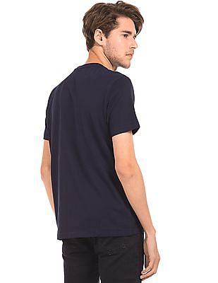 Aeropostale Rubber Print Regular Fit T-Shirt
