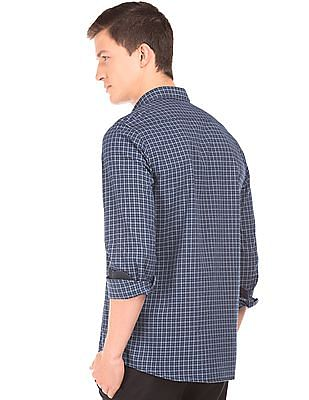 Roots by Ruggers Contemporary Fit Checked Shirt
