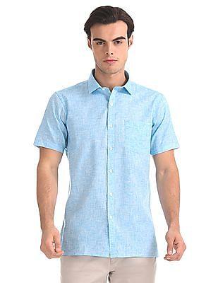 Excalibur Textured Short Sleeve Shirt