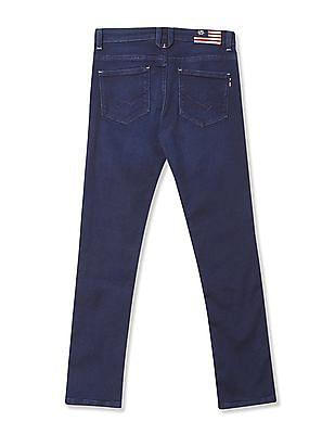 U.S. Polo Assn. Kids Boys Skinny Fit Dark Wash Jeans