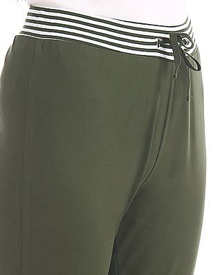 SUGR Stripe Waist Knit Joggers